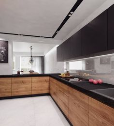 Here are the Popular Modern Kitchen Cabinets Design Ideas. This article about Popular Modern Kitchen Cabinets Design Ideas was posted … Kitchen Room Design, Kitchen Cabinet Design, Modern Kitchen Design, Home Decor Kitchen, Kitchen Interior, Kitchen Ideas, Modern Design, Kitchen Layout, Kitchen Furniture