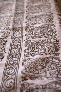 Items similar to Block print scarf on Etsy Print Patterns, Printing, Block Prints, Fabric, Ss, Cottage, Studio, Design, Style