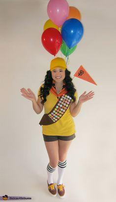 I just found my Halloween costume! @Amanda Snelson Snelson Snelson Snelson Snelson allen!   World Champion Russell - Halloween Costume Contest via @costumeworks