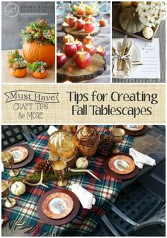 Hello and Happy Friday! Welcome to another week of Must Have Craft Tips. Kara from Mine for the Making here to share tips for creating fall tablescapes! With Thanksgiving around the corner, I thought it would be fun to chat about how to create the perfect tablescape without spending too much money or too much …