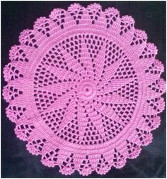 How To Crochet Doily – Tutorial – Craft Addicts