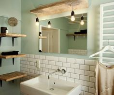 rustikale-Badezimmer-Gestaltung-praktische-Ideen