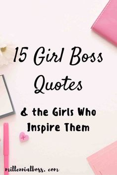 Here are the 15 best girl boss and boss women quotes and the women who inspire them. Grab your favorite boss babe quotes and learn about inspiring women. Happy Girls Day, Happy Boss's Day, Girl Day, Woman Quotes, Girl Quotes, Inspiration Entrepreneur, Entrepreneur Motivation, Business Motivation, Quotes Motivation