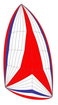 NEW-Asymmetrical-cruising-spinnaker-approx-689-square-feet-75-oz
