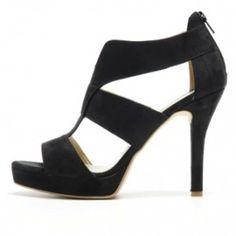 Striking stiletto vegan shoe. OlsenHaus Pure Vegan Egypt Heel.