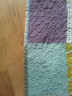 My simple patchwork quilt