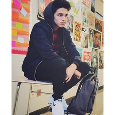 Designer Clothes, Shoes & Bags for Women Emo Guys, Cute Guys, Rivera Family, Squad Photos, Sam Pottorff, Finn Harries, Famous Youtubers, Carter Reynolds, Taylor Caniff