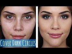 How to Cover Dark Circles and Stop Under Eye Creasing! - YouTube