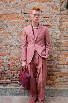 Behind the scenes at Bottega Veneta at Milan Fashion Week. Photographed by Kevin Tachman.