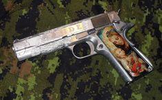 1911 pistol custom - http://www.rgrips.com/en/article/93-browning-a500g