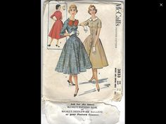 Print Patterns, Sewing Patterns, Junior Dresses, Pattern Books, Needlework, Prints, Embroidery, Dressmaking, Couture