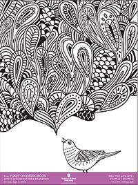 Pretty Designs For Fun And Relaxation Colouring Book Free Sample Page