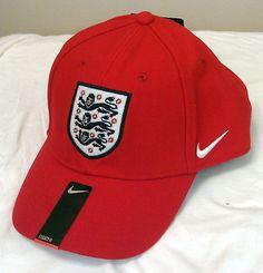 Just $17.99!! FA England Football Club Soccer Nike Hat Cap NEW/NWT National Team Adult One Sz #Nike #England