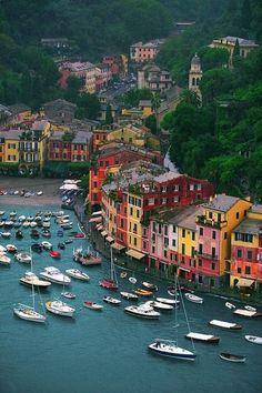 Portofino, Italy. Put this on the  list.
