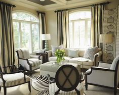 Zebra Print Interior Design Ideas