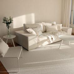 SVEA wide rug, white metallic/white, Pappelina