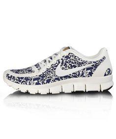 brand new fd0af 63f04 Nike Free 5.0 V4 Liberty Dark Blue White Cheap Sneakers, Sneakers Nike,  Purple Sneakers