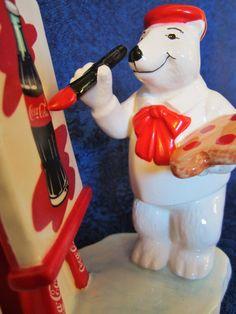 Vintage Coca-Cola Polar Bear by NowAndThenConnection on Etsy