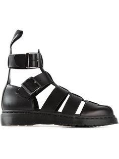 Dr. Martens Gladiator Sandals Black leather gladiator sandals from Dr. Martens. Trovato su Styletorch