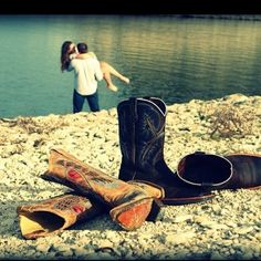 LOVE this photo. But with heels and boat shoes :)