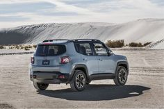 View 2015 Jeep Renegade: A Real Cute Brute Photos from Car and Driver. Find high-resolution car images in our photo-gallery archive. Jeep Wagoneer, Camping Jeep, Jeep Renegade 2017, 4x4, Automobile, Jeep Brand, Classic Car Insurance, Small Suv, Chrysler Dodge Jeep