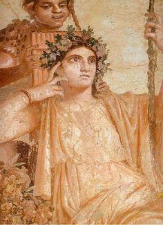 Fresco from House of Julia Felix, #Pompeii #archaeology