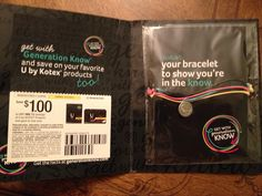 Get your FREE bracelet from Kotex ~ #freebies