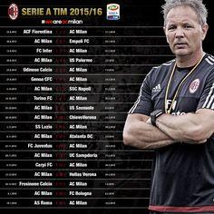 Calendario Ac Milan.35 Best Ac Milan Images In 2017 Ac Milan Milan Soccer
