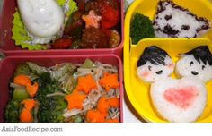 A specially prepared bento for your love ones will definitely cheer them up while working