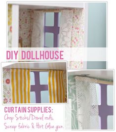 The Busy Budgeting Mama: DIY DOLLHOUSE - getting inspired for making doll house stuff with my daughter.