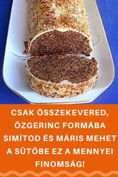 Fruit Recipes, Baby Food Recipes, Cake Recipes, Dessert Recipes, Cooking Recipes, Hungarian Cake, Hungarian Recipes, Smoothie Fruit, Twisted Recipes