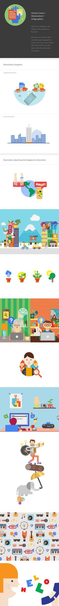 Quá trình 'phẳng hóa' trong các sản phẩm Google