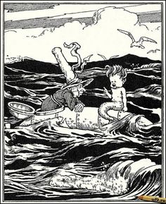 """""""The Adventures of Uncle Lubin"""" - W. Heath Robinson by docarelle, via Flickr"""