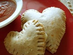 Make Calzone Hearts for a Fun Valentine's Day Family Dinner