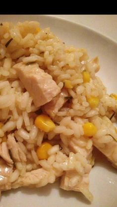 slimming world chicken and sweetcorn risotto