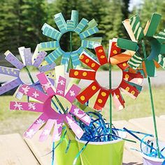 Crafts Using Toilet Paper Rolls | Crafts for Kids Blog » Tutorial: Toilet Paper Roll Mother's Day ...