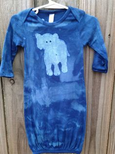 Hey, I found this really awesome Etsy listing at https://www.etsy.com/listing/217464719/elephant-batik-baby-gown