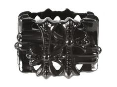 Chrome Hearts black diamond ring