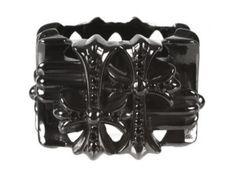 Chrome Hearts black diamond ring