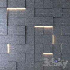 107. 3D panel 3dmodel