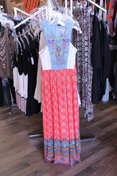 one piece spring dress from Encore, Moberly, MO. $52