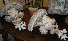 Nautical Furniture, Seashell Projects, Seashells, Beach, Gifts, Diy, Image, Presents, The Beach