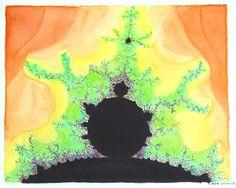 aquarel fractal
