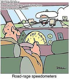 Road Rage Speedometer