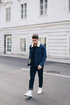 Jaqueta Masculina. Macho Moda - Blog de Moda Masculina: Jaqueta Masculina: 5 modelos que estão em alta pra 2017. Moda Masculina, Moda para Homens, Roupa de Homem, Moda Masculina Inverno 2017, Roupa de Homem Inverno, Jaqueta com Forro de Pelo, Jaqueta de Pelo Masculina,
