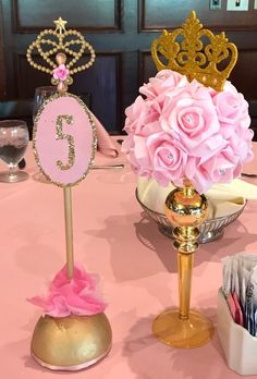 Trending Ideas in the Wold of Princess Birthday Decorations - Best Resources and Party Service Guide Girl Birthday Themes, Baby Girl Birthday, Birthday Party Decorations, Birthday Parties, Birthday Crafts, Cinderella Birthday, Barbie Birthday, Princess Birthday, Ballerina Baby Showers