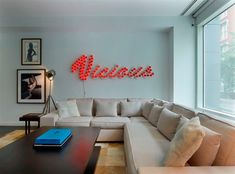 need a neon sign for my living room...or maybe better for bedroom! ;)