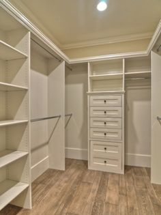 Tansitional Closet