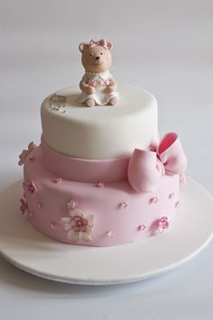 All sizes | Ellie's Christening Cake | Flickr - Photo Sharing!