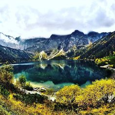 It's so good to be back in our homeland Poland!  Last year we took this photo of Morskie Oko the most beautiful lake in the world according to the The Wall Journal. Isn't it amazing?
